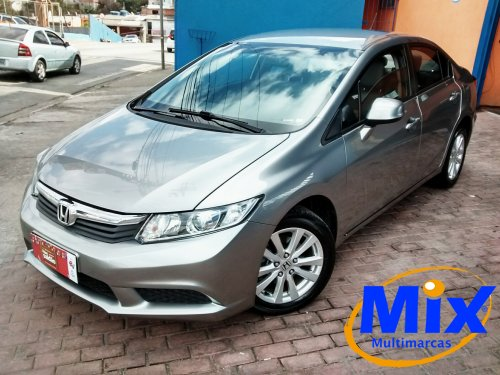 CIVIC LXS 1.8 FLEX AUTOMATICO 2014